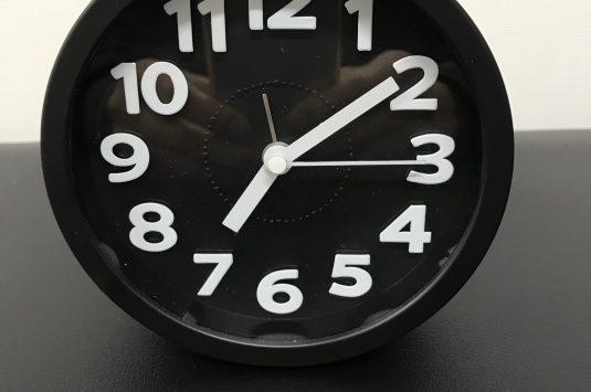 時計が‥‥